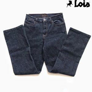 Lois dark wash stretchy Jeans Sz 29